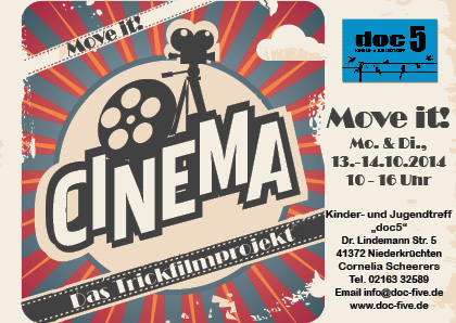 Move it! Das Trickfilmprojekt 13.-14.10.2014