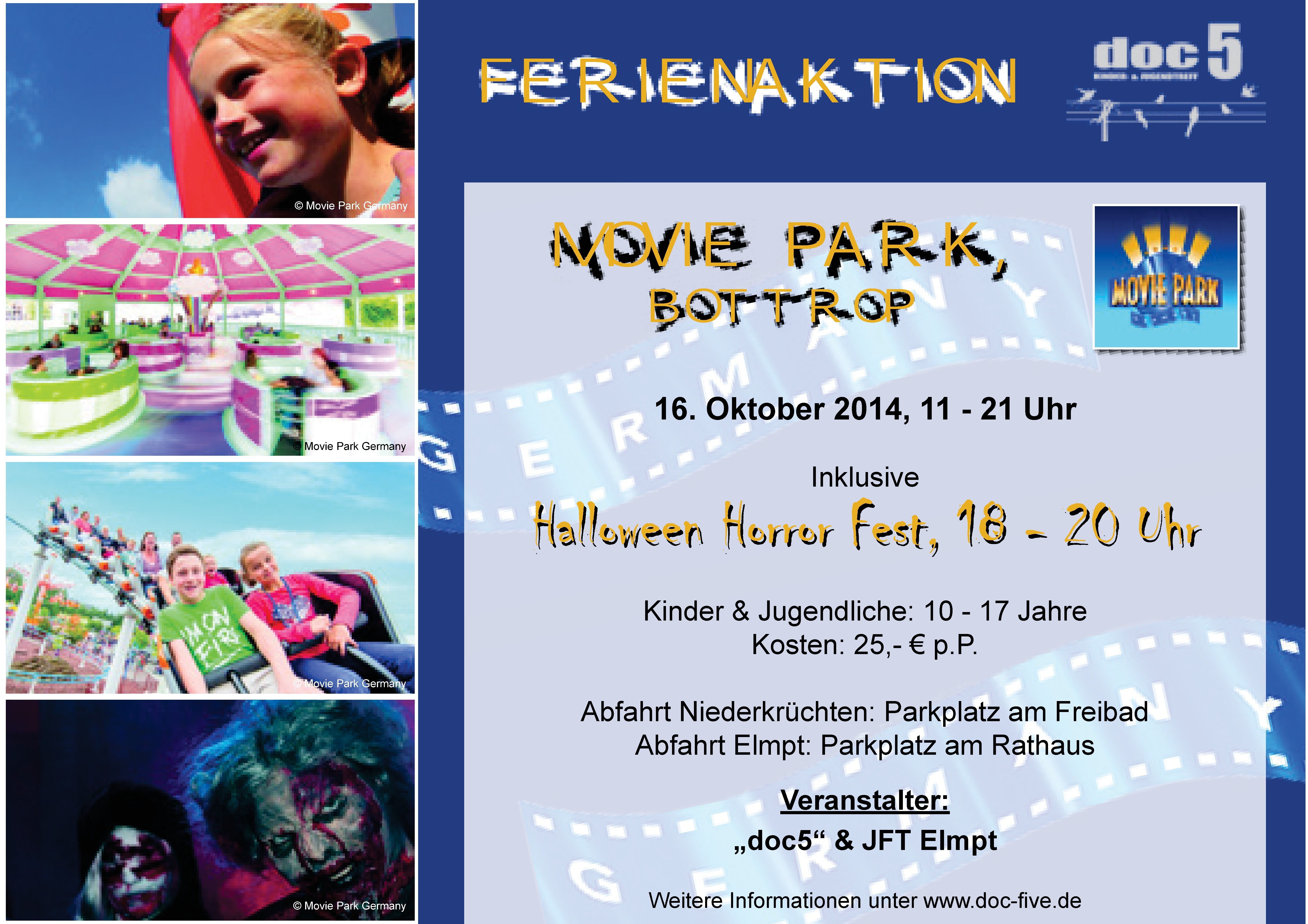 Plakat Movie Park 16.10.14