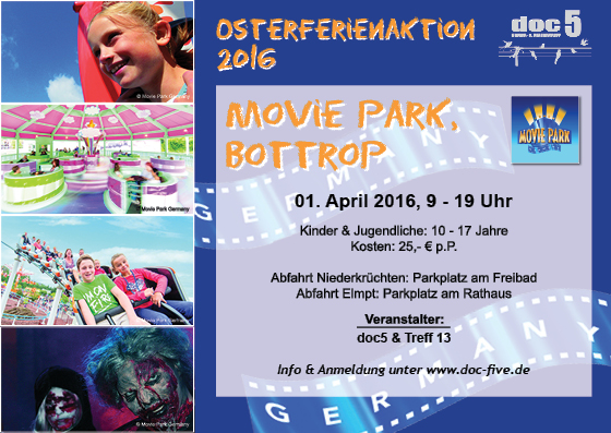 Flyer Movie Park 04.2016