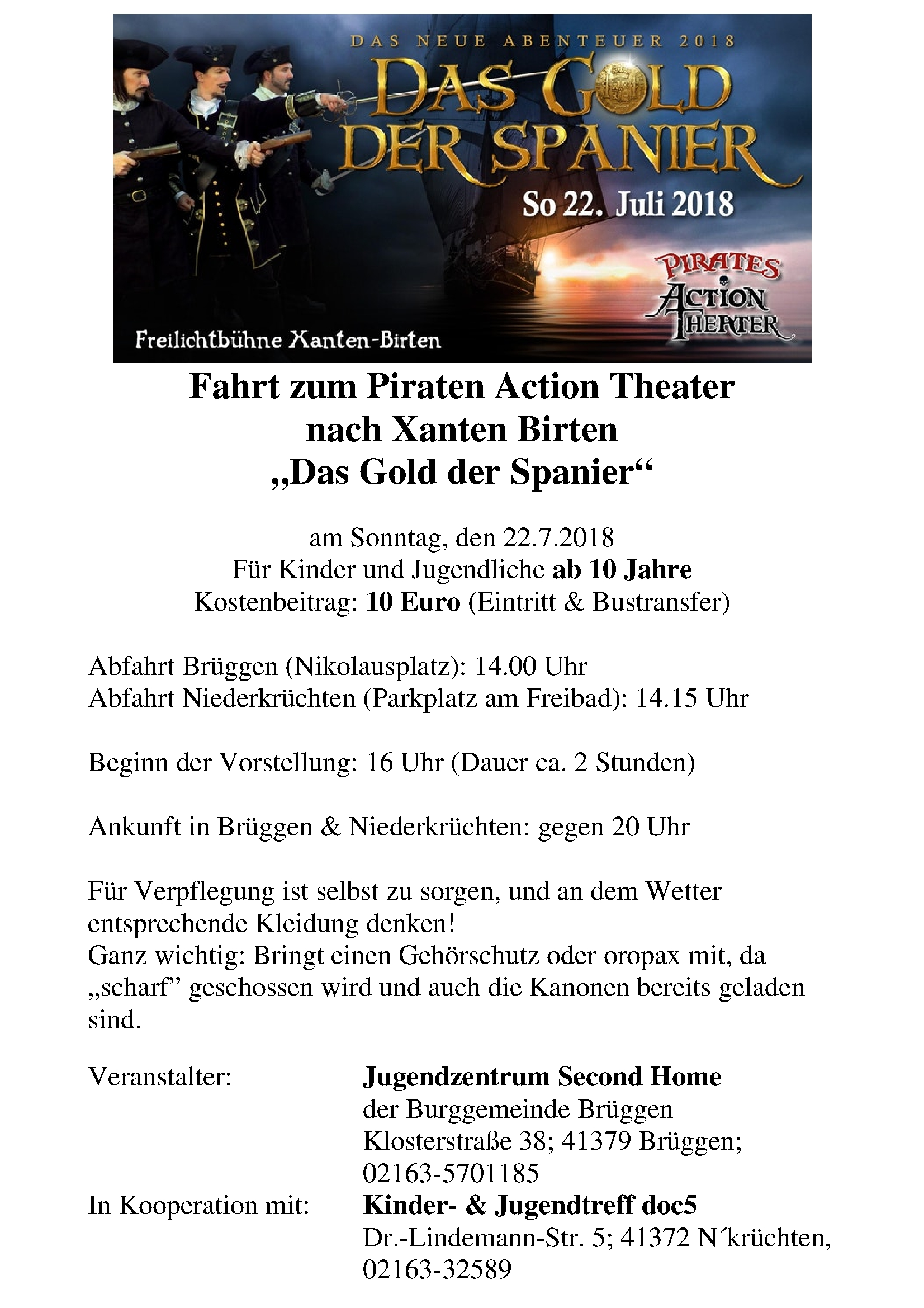 Plakat PiratenTheater